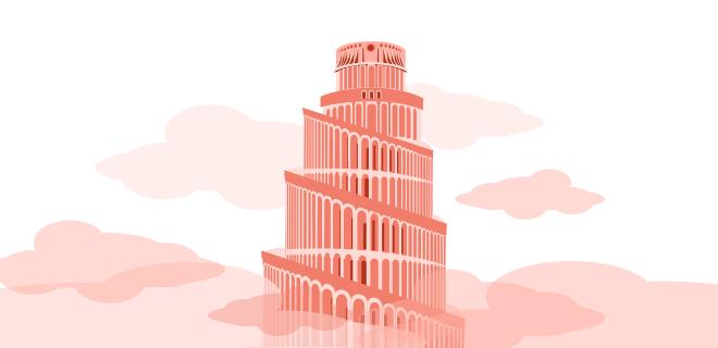 Tour de Babel représentant la croissance Masteos