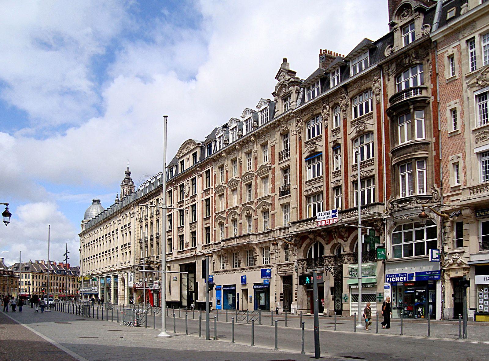 Le Centre-Ville/ Gares Lille Flandres et TGV Europe