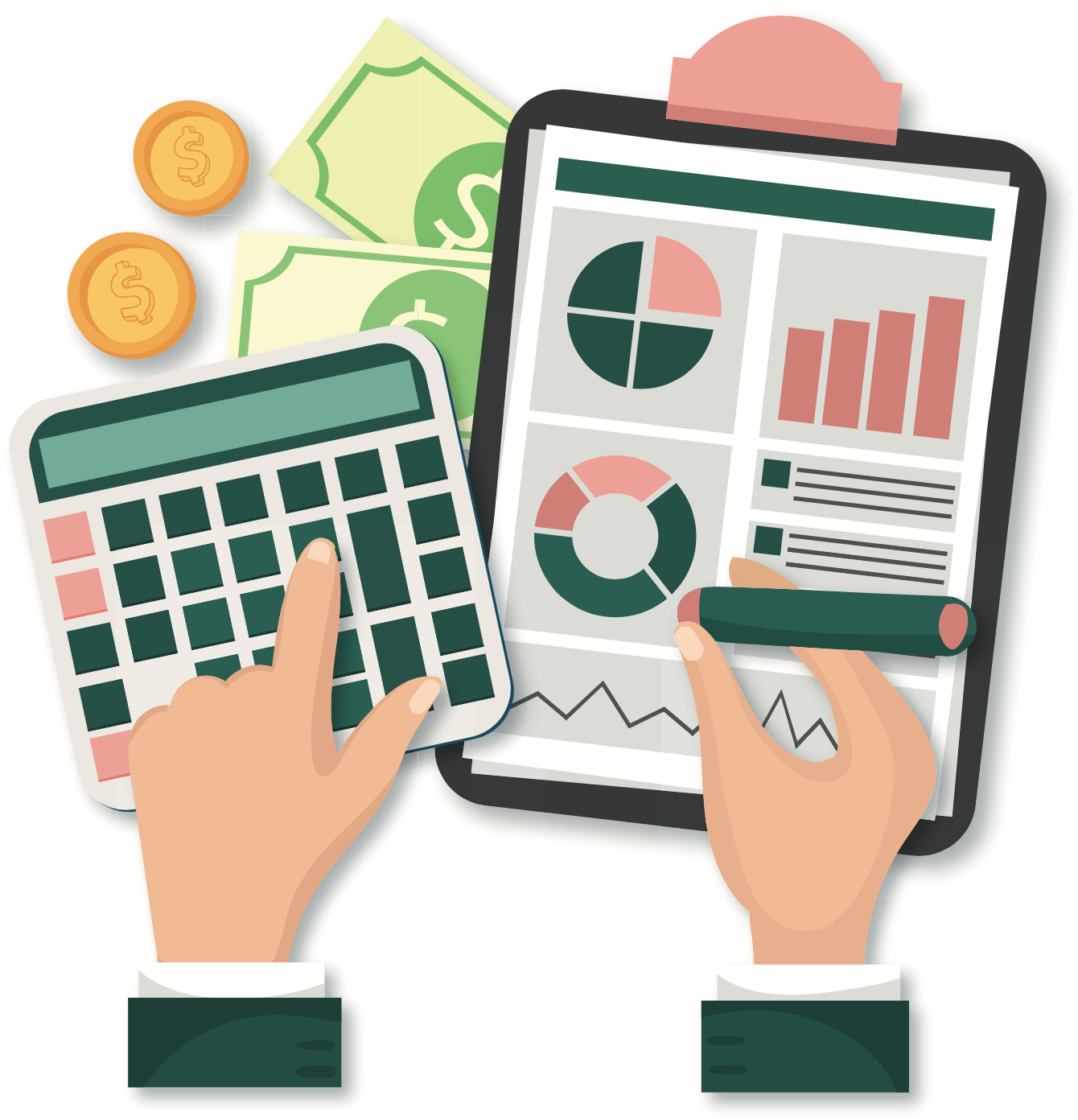 Illustration de calculs financiers