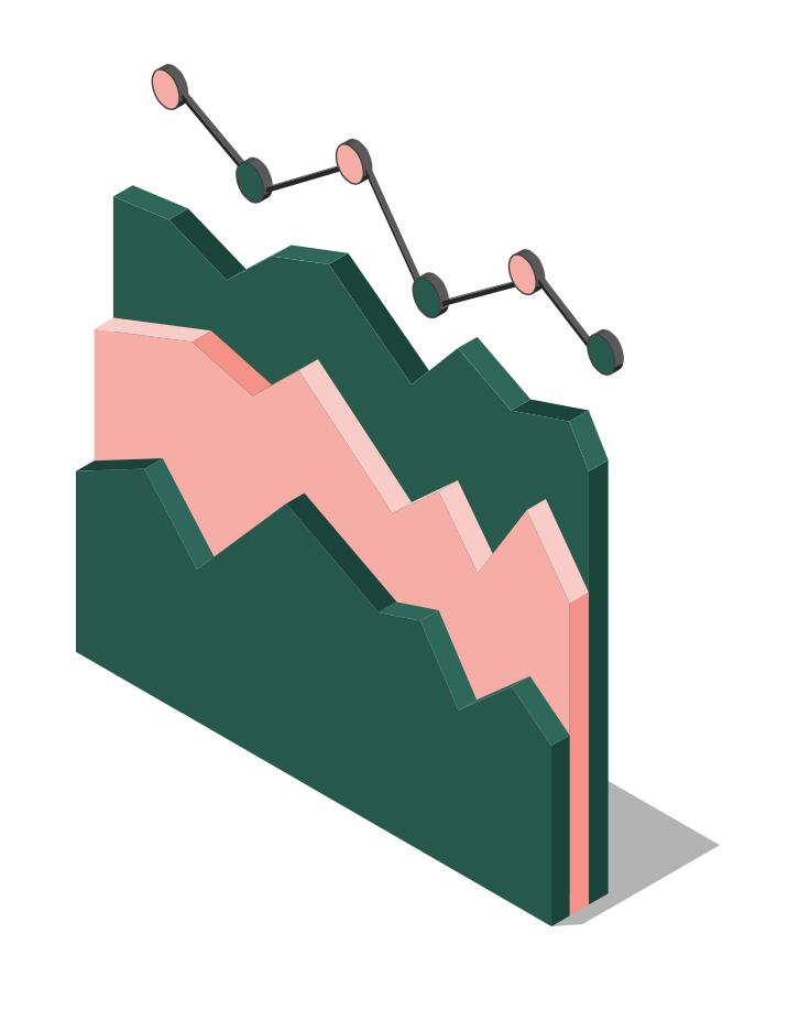 Illustration d'un graphique en 3D