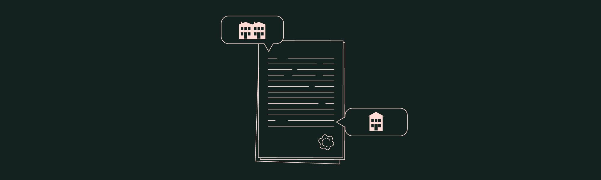 Document notarial pour succession en SCI
