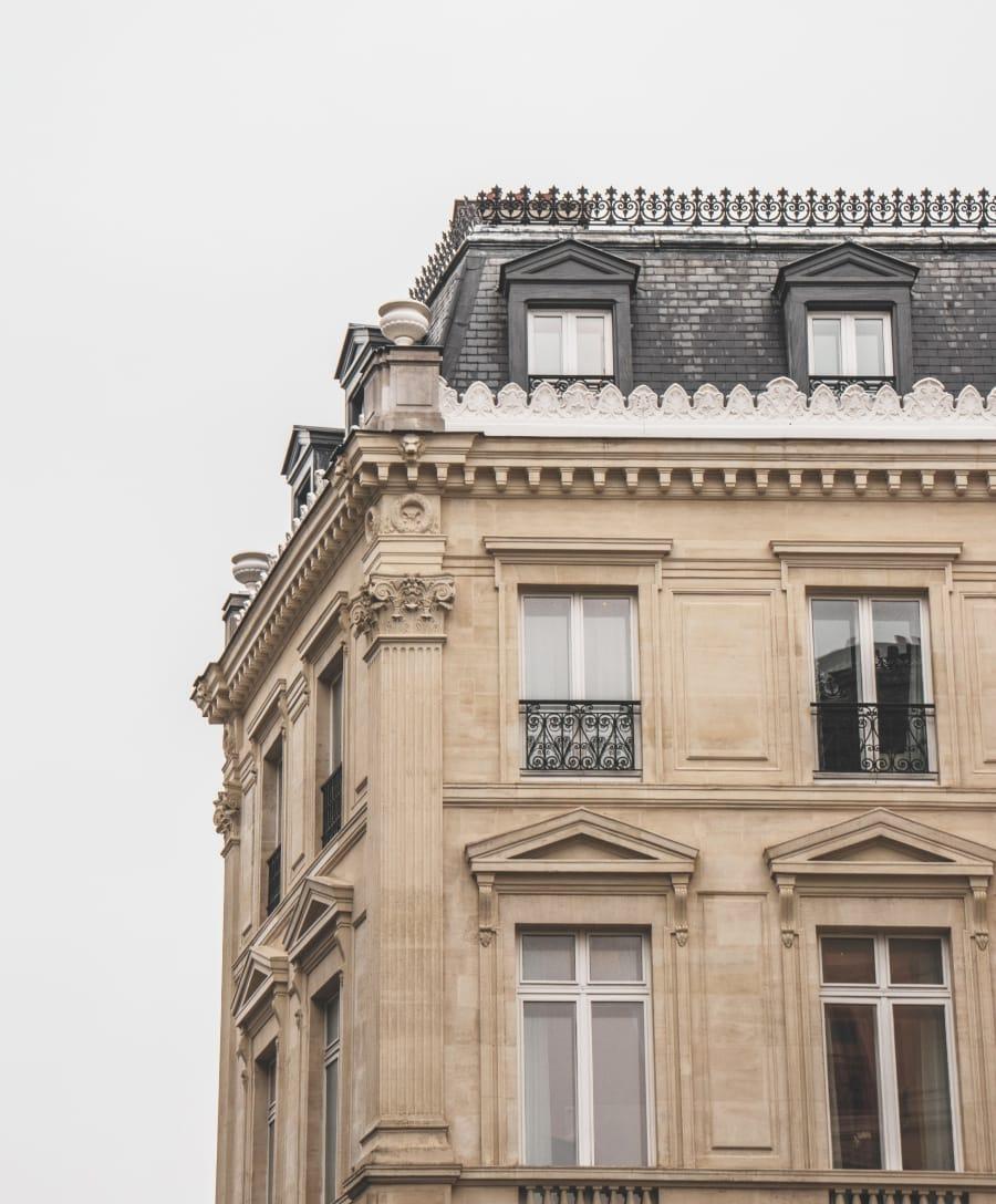 Architecture extérieure immeuble