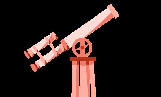 motion téléscope