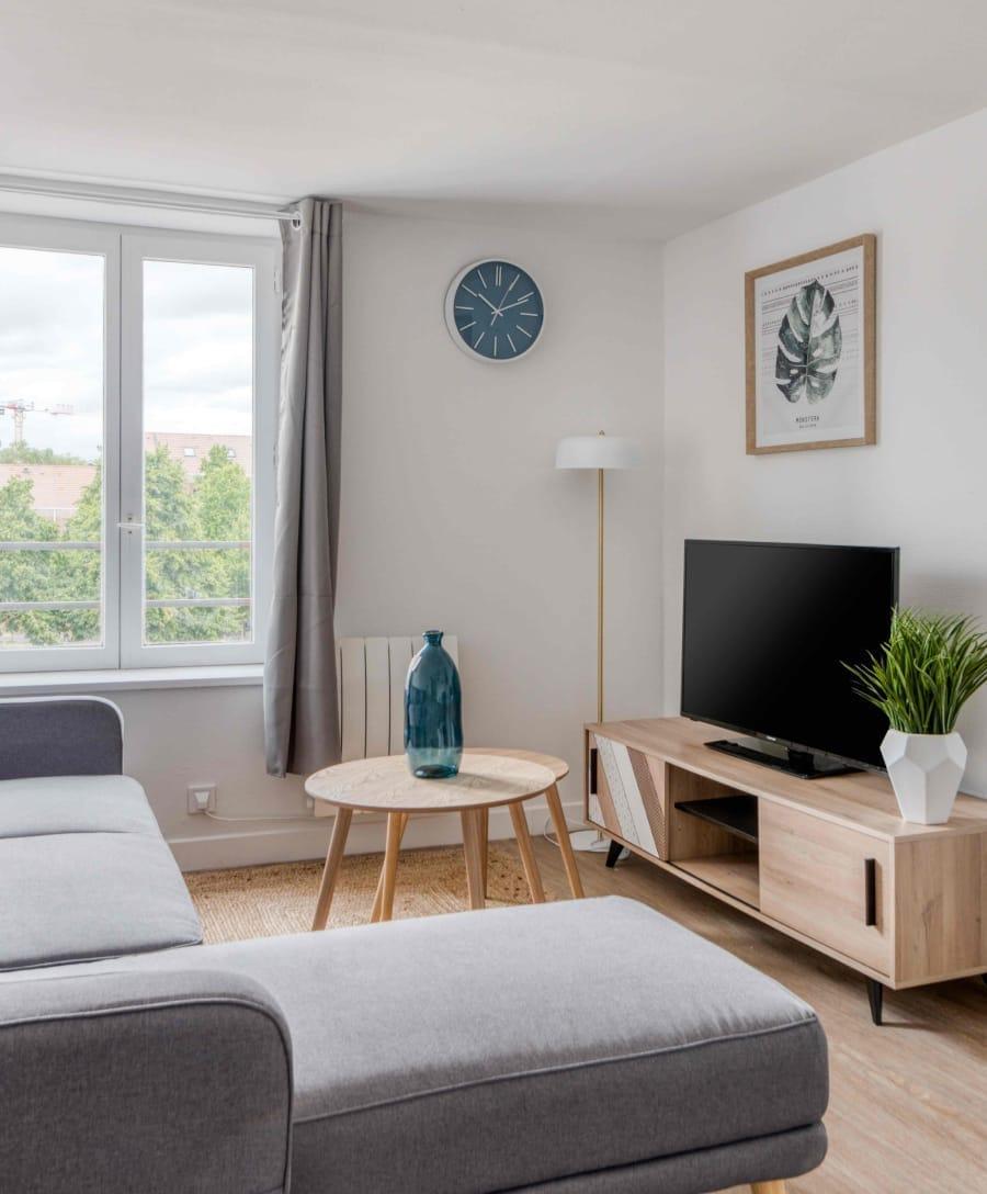 pack meubles salon projet locatif