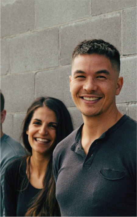 Image of a man smiling