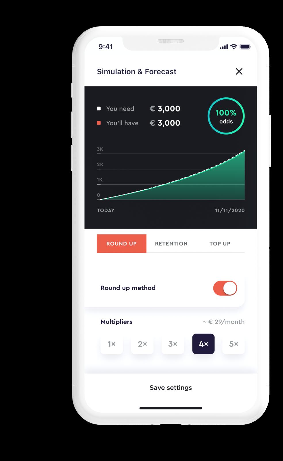 Digital saving and investment platform