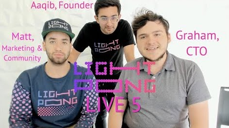 Light Pong Youtube live Episode 5