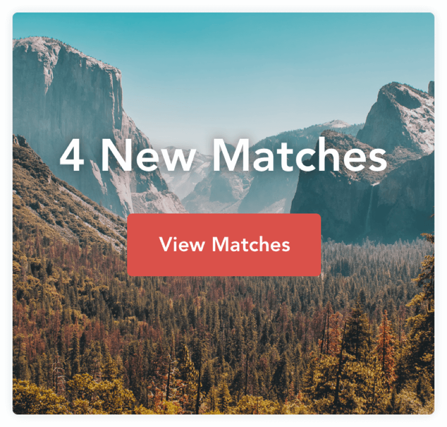 4 new matches call to action