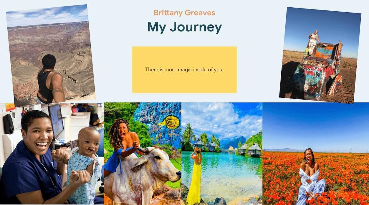 brittany greaves RN travel nursing pictures