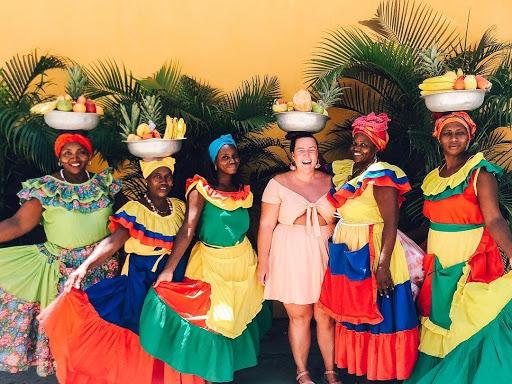 women dressed up smiling pediatric nurse lindsay riddell
