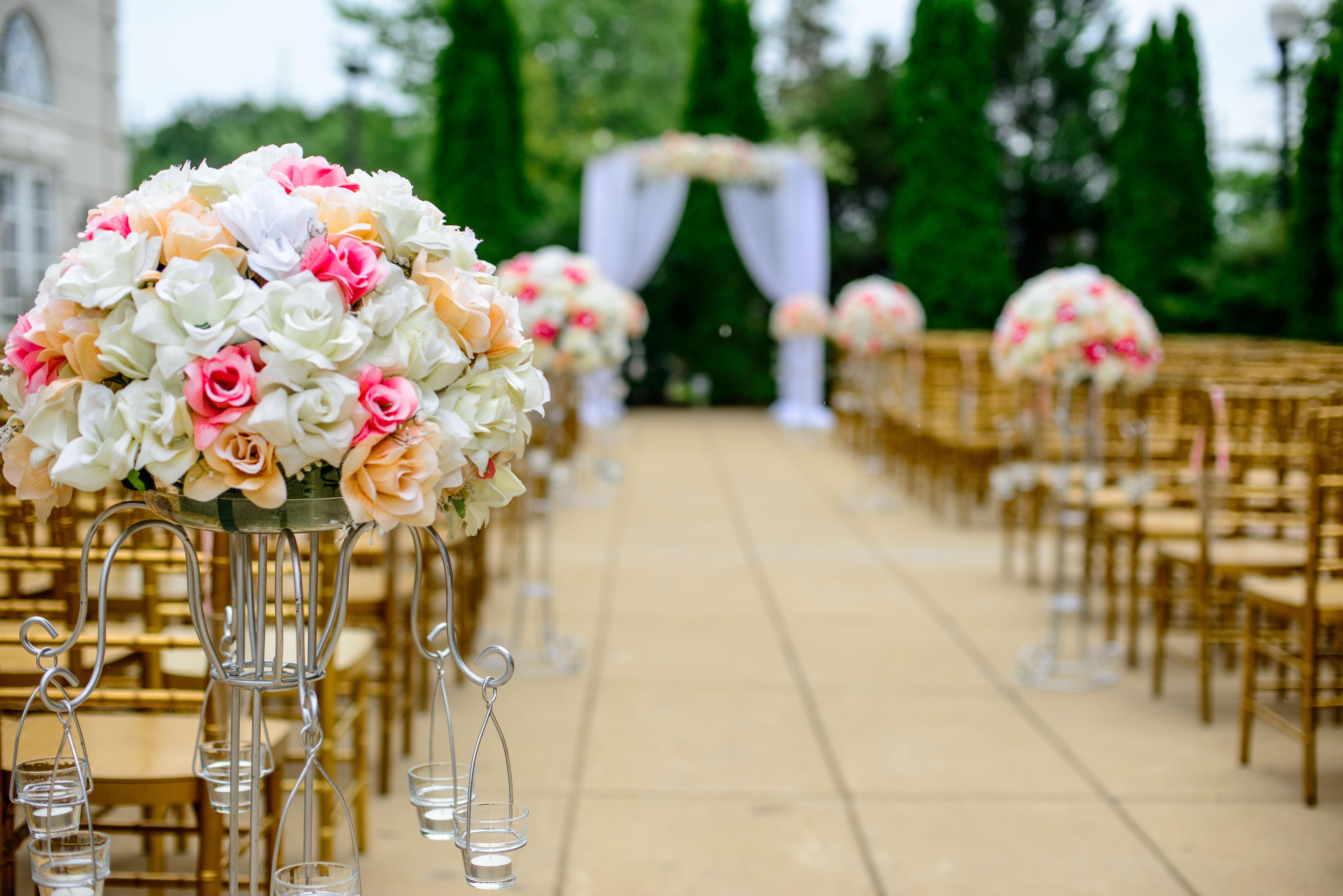 wedding aisle msp wedding planner analogy