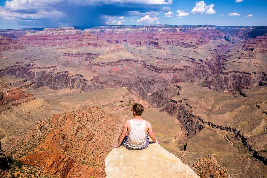 man on ledge in canyon fastest states to get nursing license in