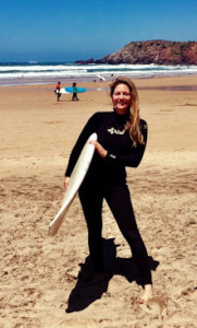 nurse surfing
