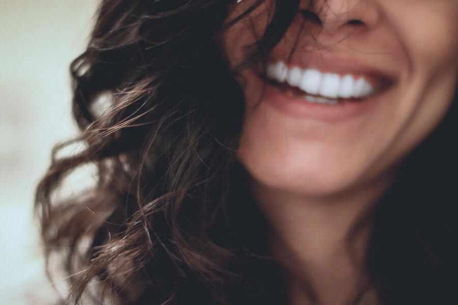 woman smiling keeping joy in the journey