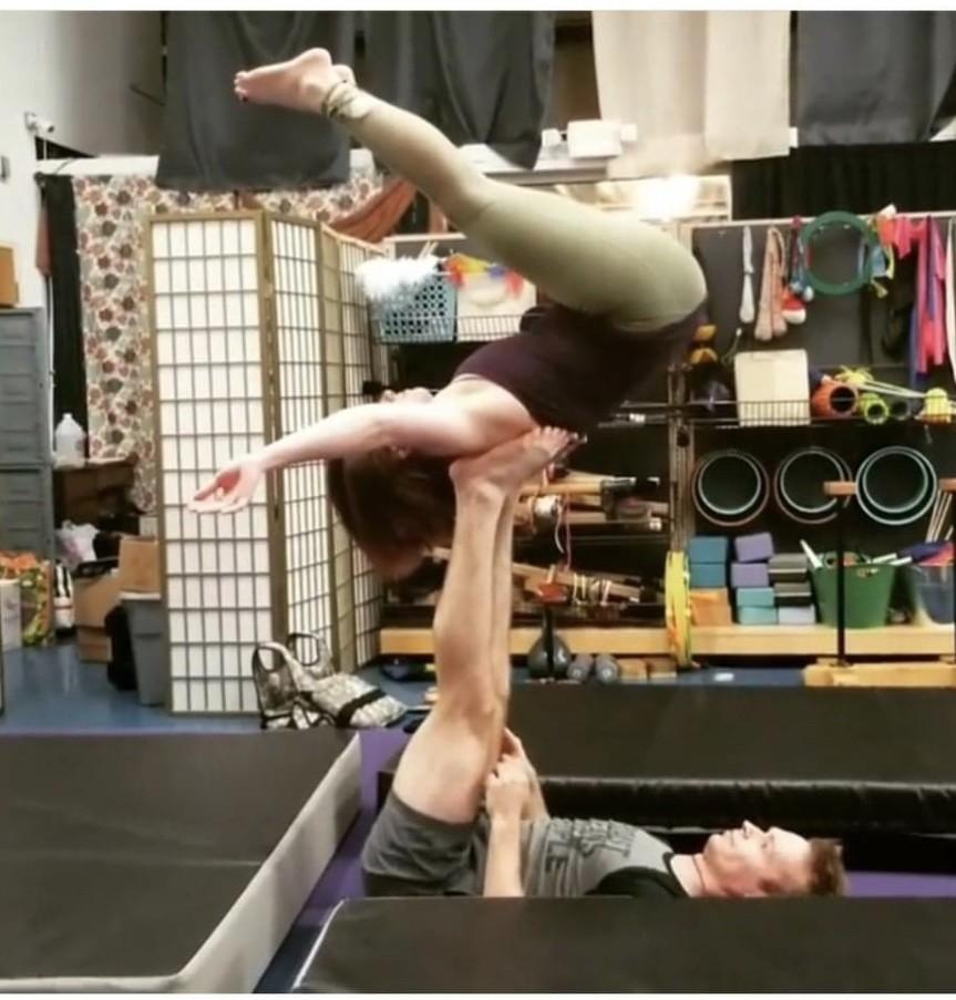 nurse ashley bowlin acro yoga