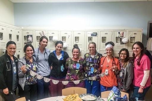 nurses celebrating pediatrics nurses lindsay riddell