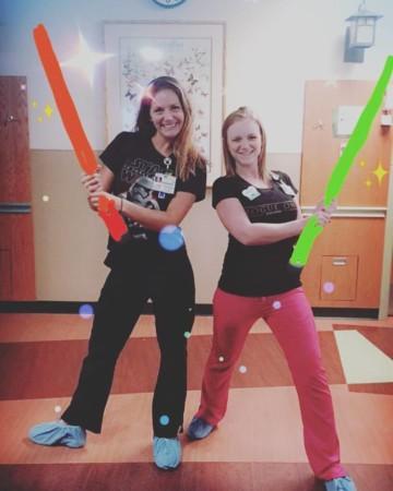 Jedi pediatric nurse