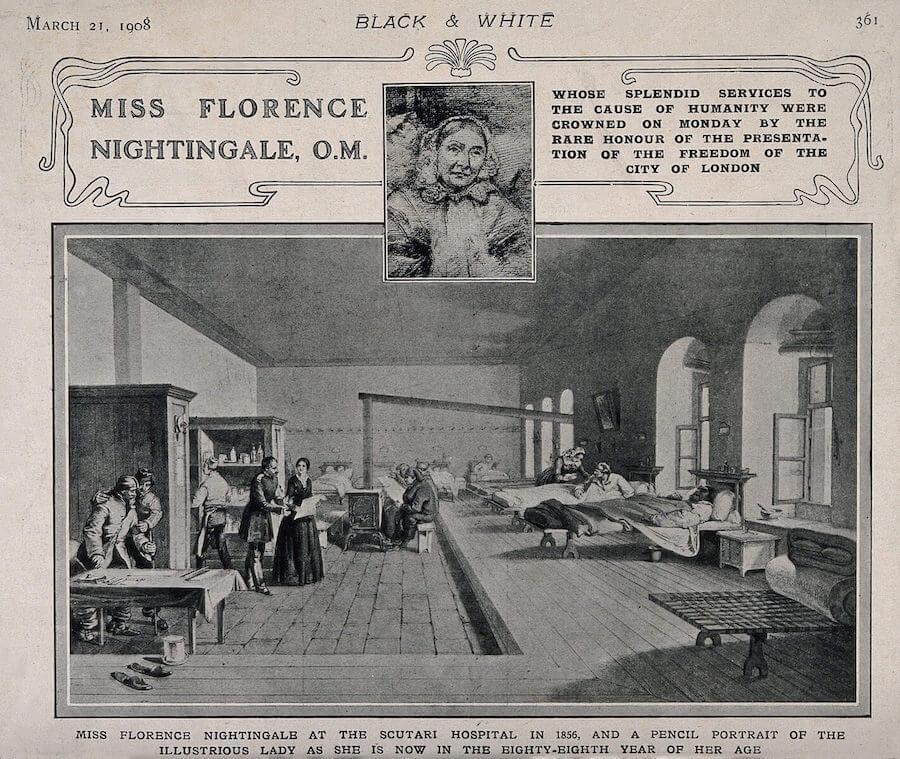 florence nightingale year of the modern nurse
