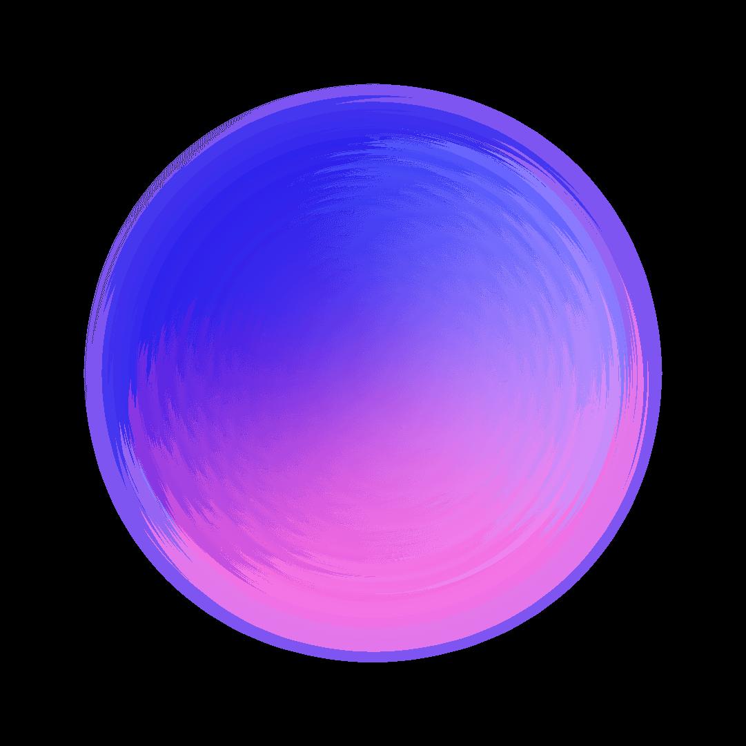 gradient orb