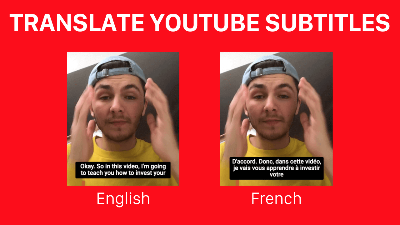 How to translate your Youtube subtitles