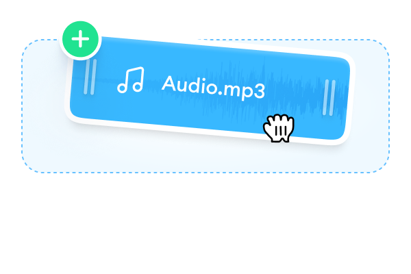 Upload an audio file