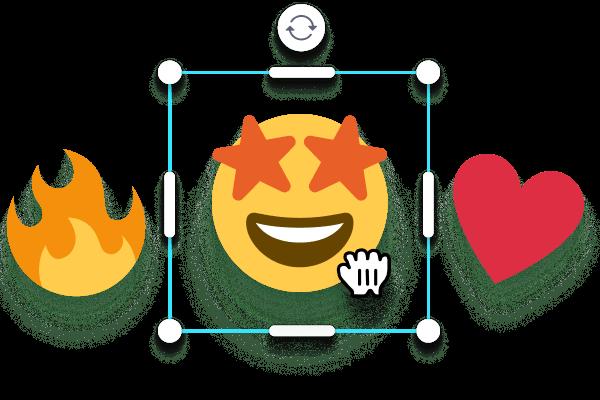 Add Stickers and Emojis