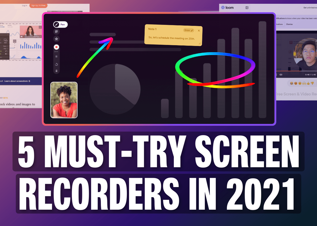 7 Best Free Screen Recorders in 2021 [Free and Paid]