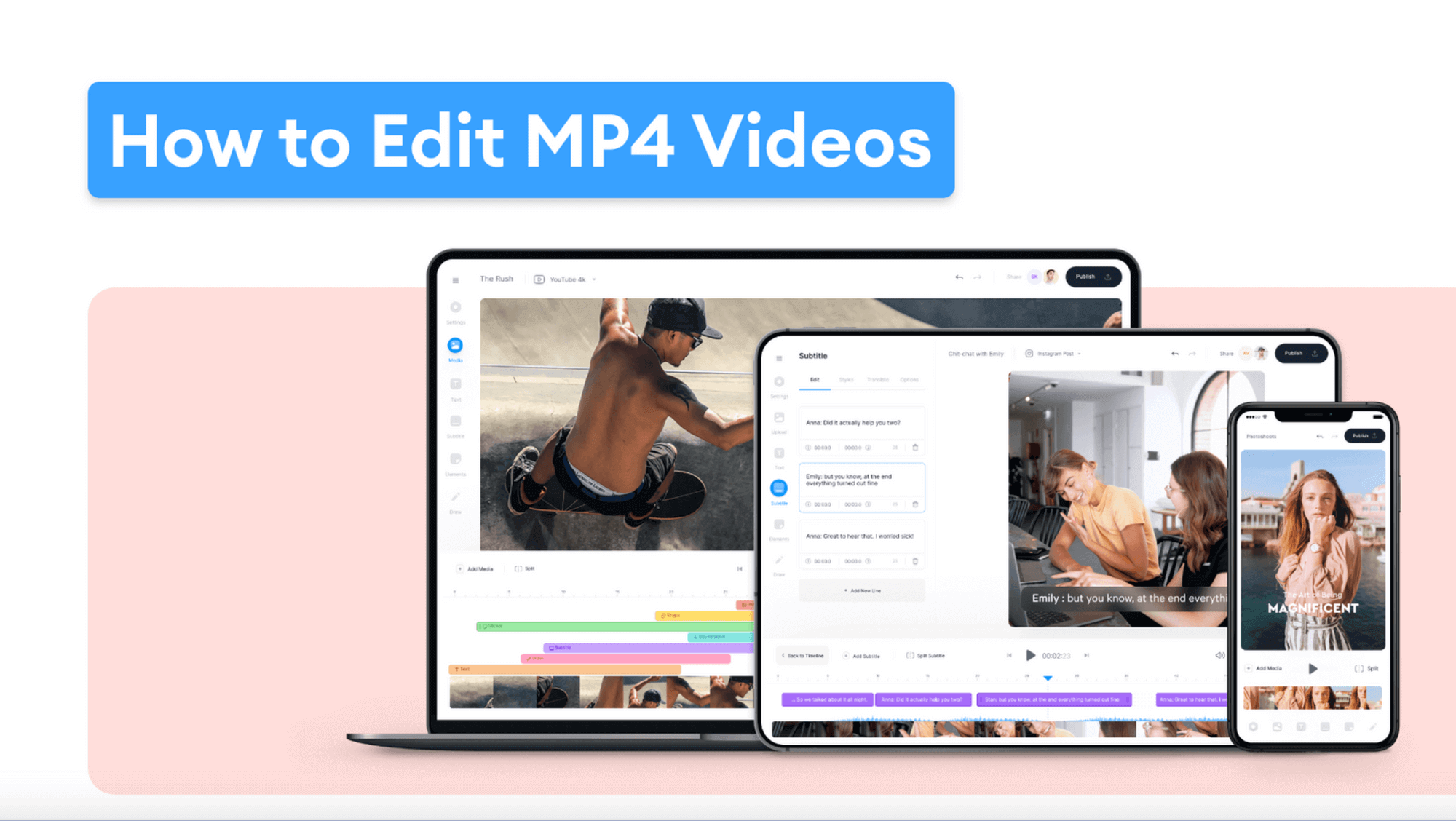 MP4 Editor: How To Edit MP4 Files Fast